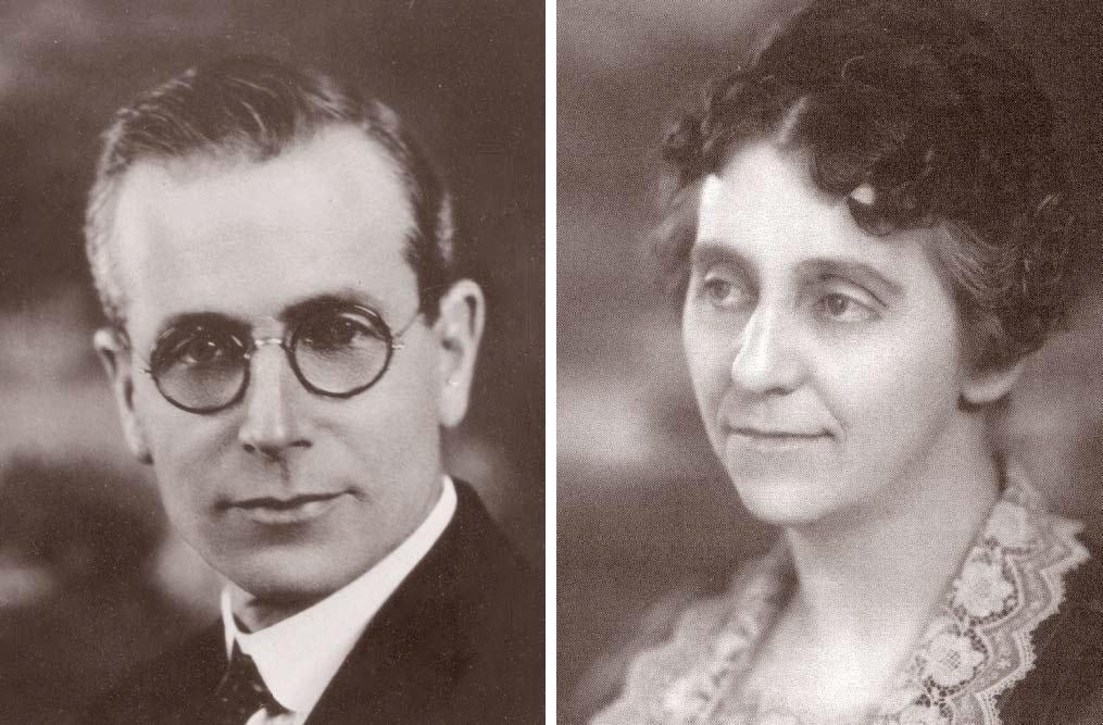 Charles & Leona Burman